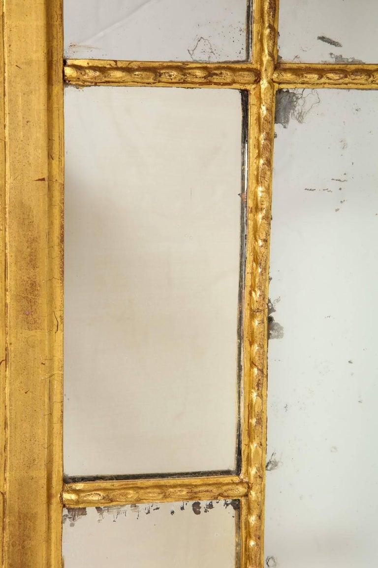 Rectangular georgian style mirror with gilt frame for sale for Mirror frame styles