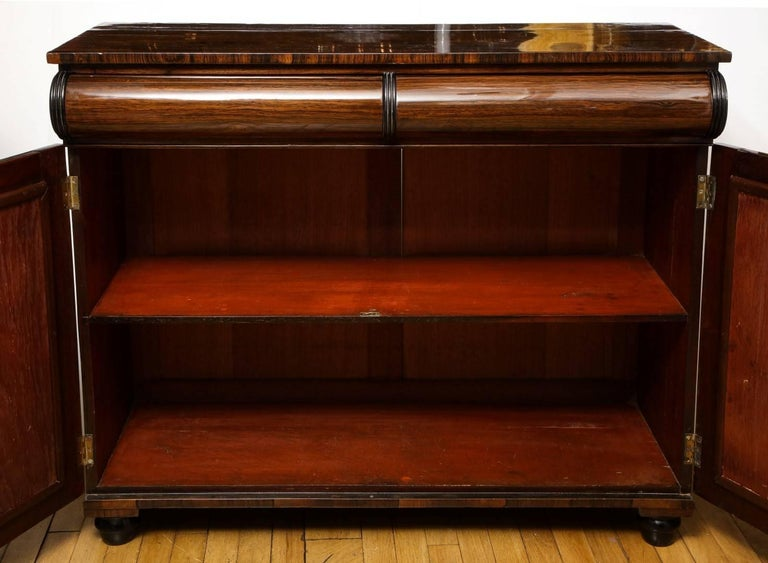 Mid-20th Century Rosewood Bar Cabinet For Sale