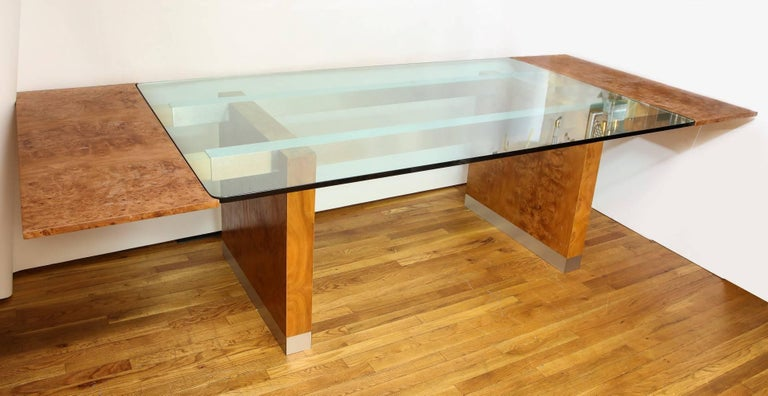 American Mid-Century Modern Dining Table by Paul Evans  For Sale