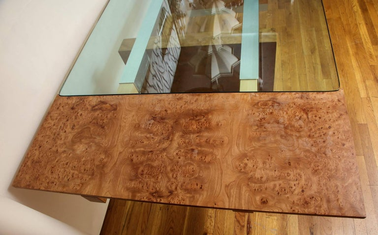 Mid-Century Modern Dining Table by Paul Evans  In Excellent Condition For Sale In New York, NY