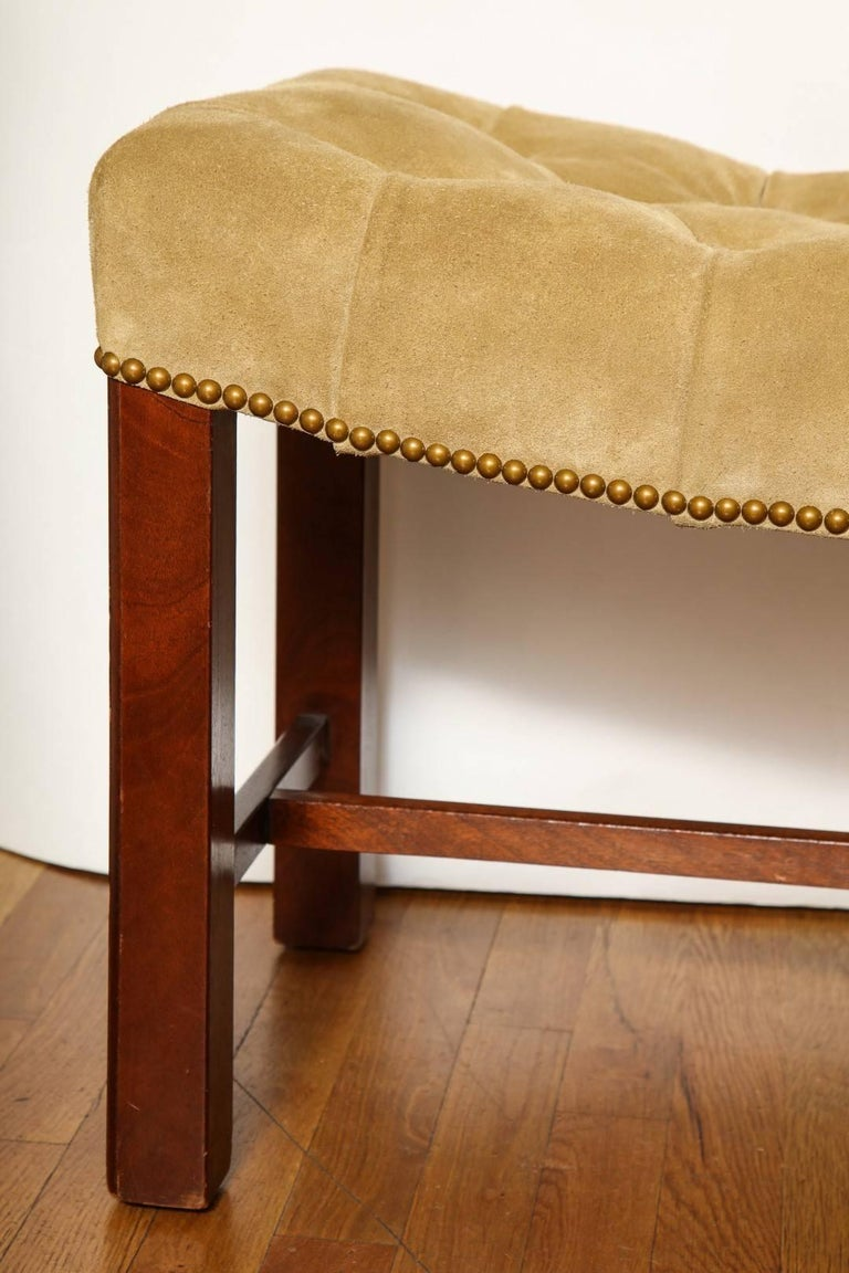 Pair of Chippendale Style Benches 3