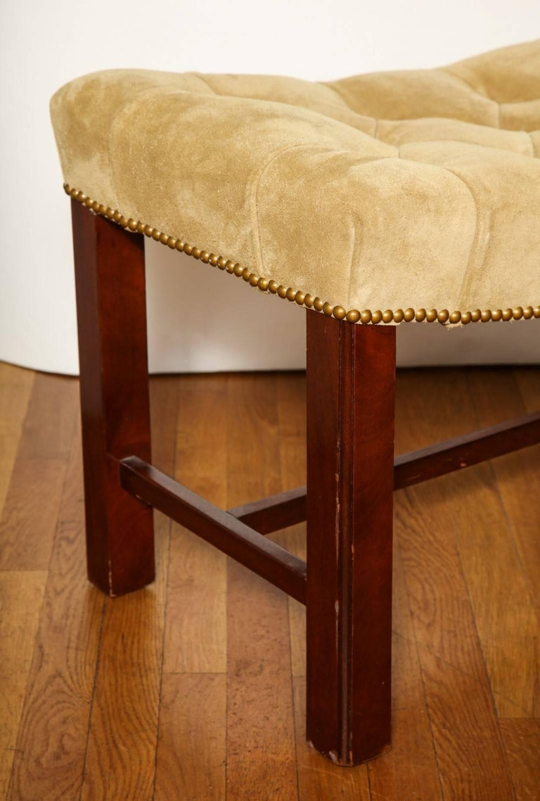Pair of Chippendale Style Benches For Sale 2