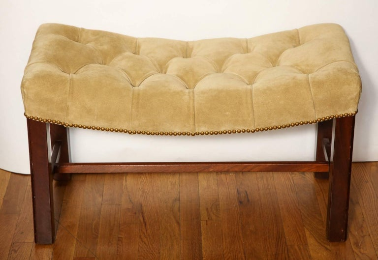 Pair of Chippendale Style Benches For Sale 3