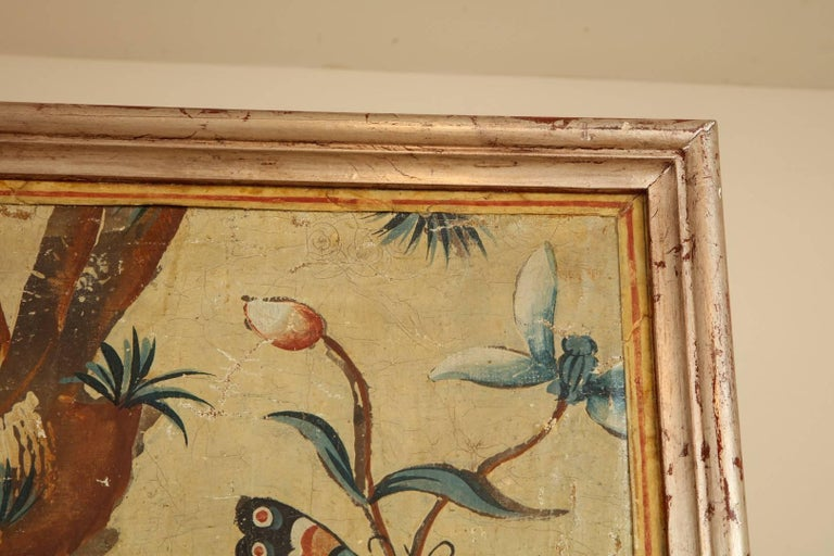 Set of Four Piemonte Chinoserie Painted Panels In Good Condition For Sale In New York, NY