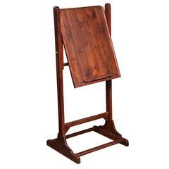 Standing Adjustable Wood Easel