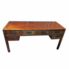 Mid-19th Century Elmwood Scholar's Desk