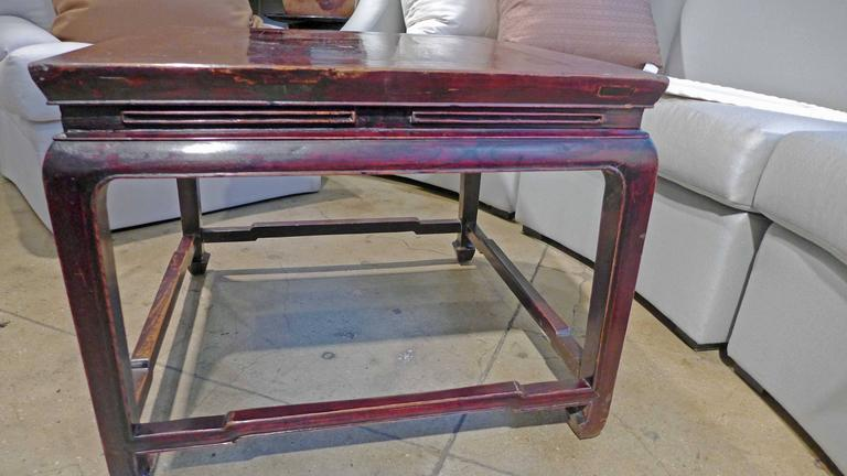 Square Coffee Table In Good Condition For Sale In New York, NY