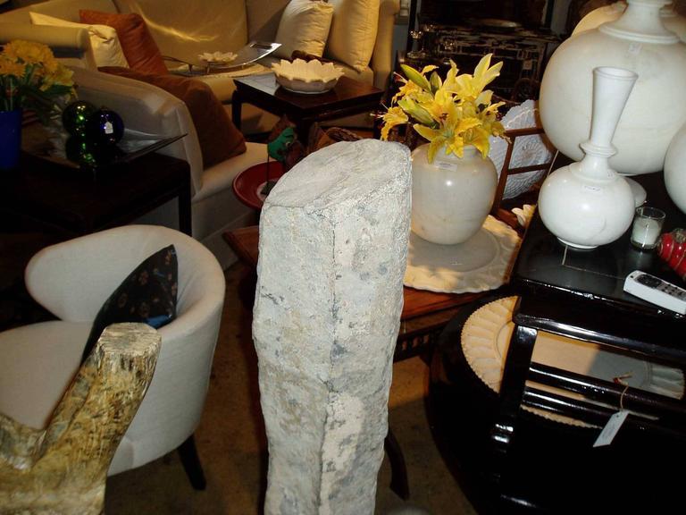 Ming 16th Century Stone Pillar For Sale