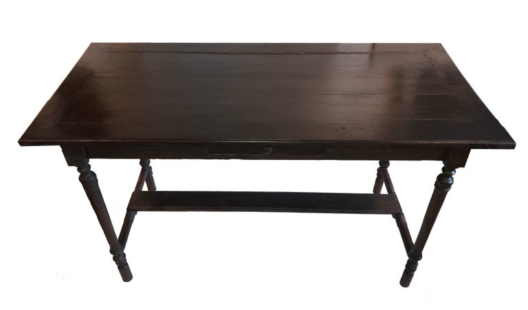 Vintage One Drawer Desk from Indonesia For Sale 1