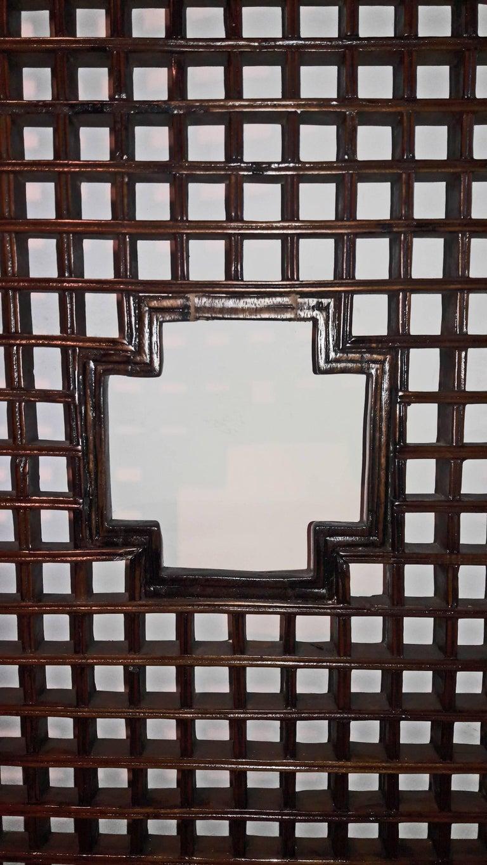 Chinese Lattice Wood Panel, Suzhou, China, Early 20th Century For Sale