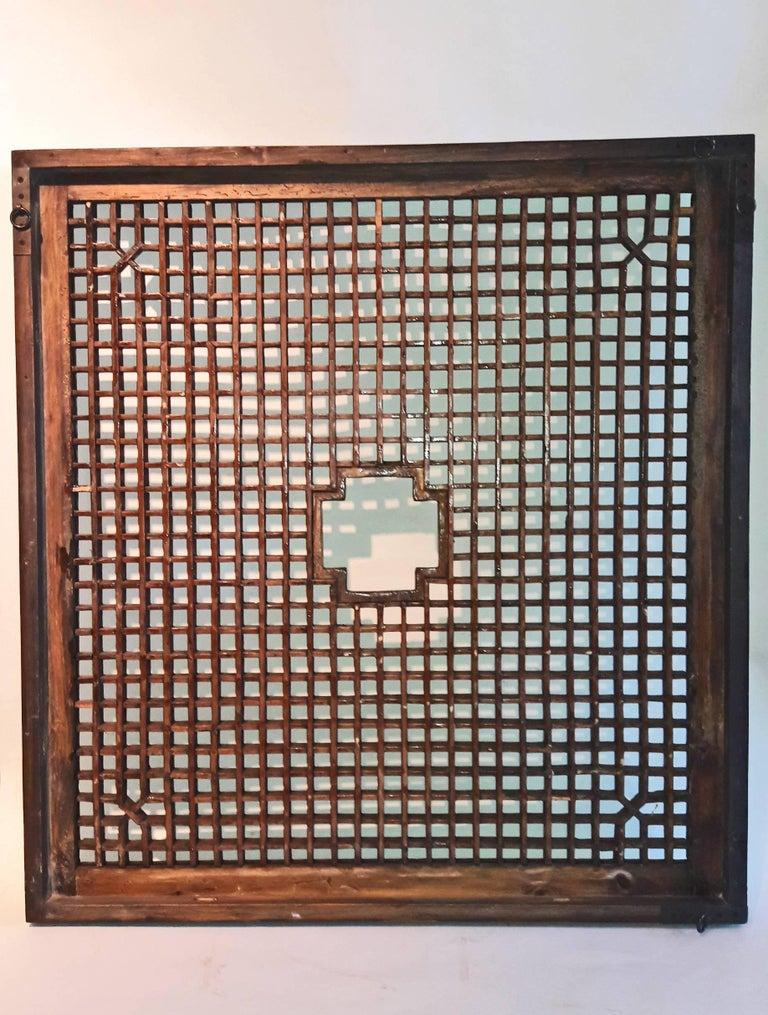 Lattice Wood Panel, Suzhou, China, Early 20th Century For Sale 1