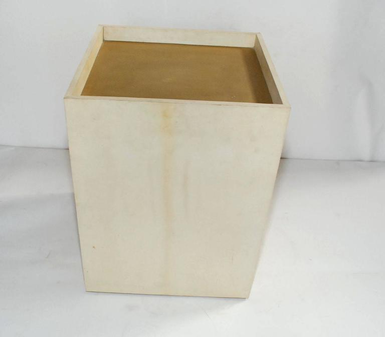 Single Parchment Side Table 6