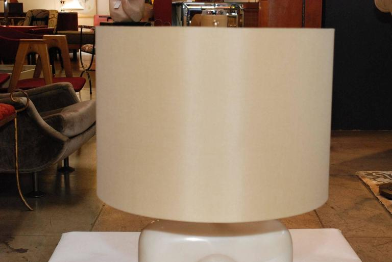 Late 20th Century Pair of Parchment Table Lamps For Sale