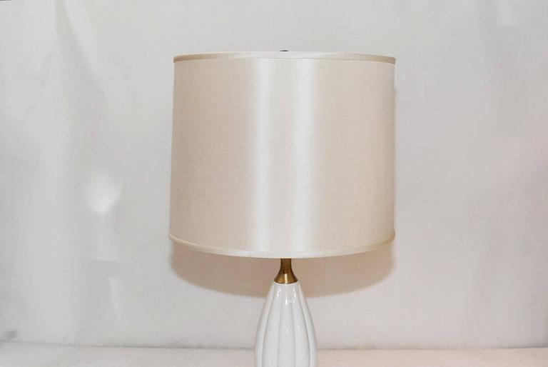 Mid-20th Century Pair of Ceramic Table Lamps For Sale