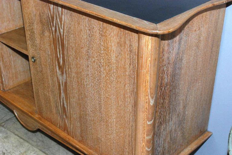 1940s French Cerused Credenza For Sale 1