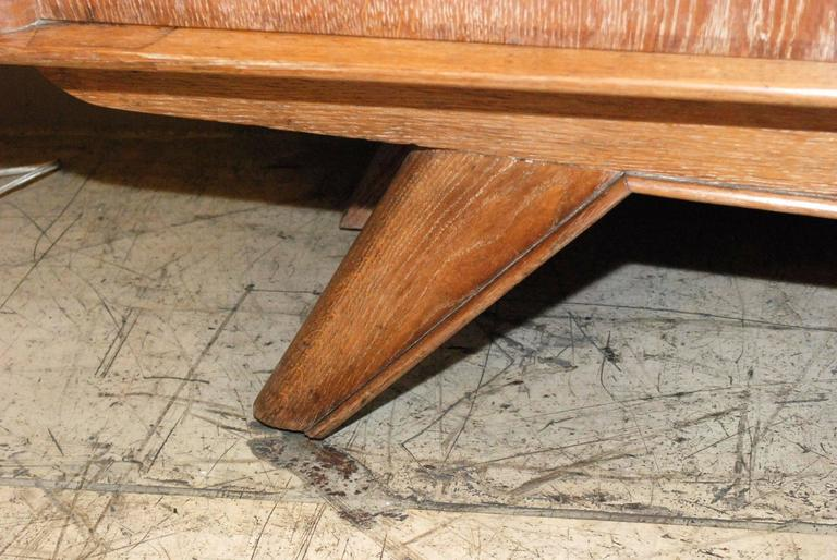 1940s French Cerused Credenza For Sale 2