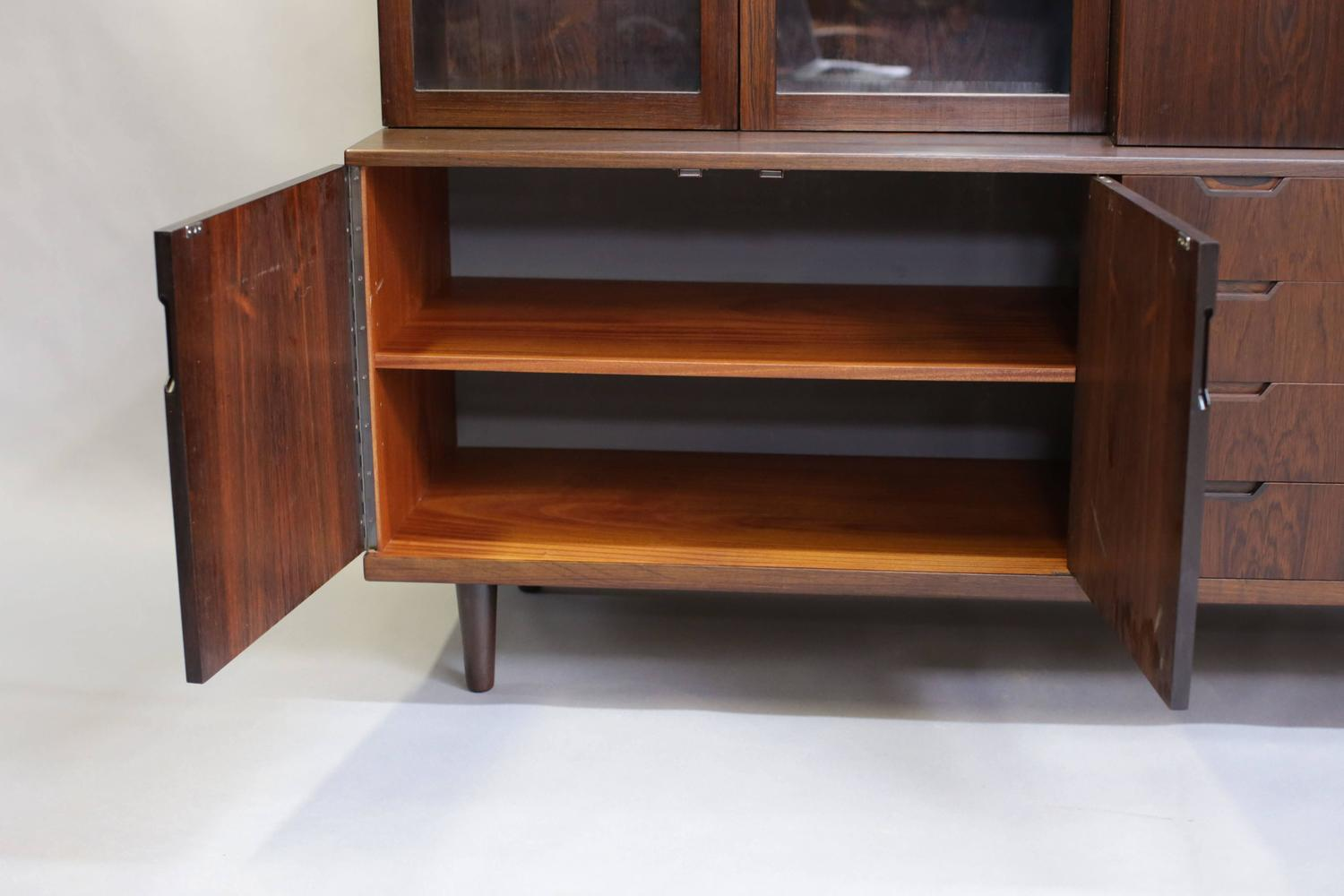 Cupboard buffet china cabinet from denmark by svend langkilde for