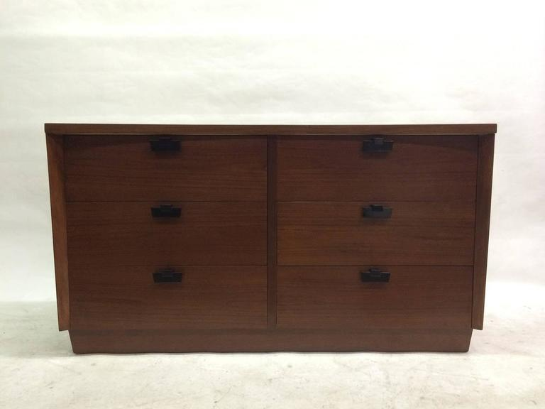 American of Martinsville Walnut Chest of Drawers 2