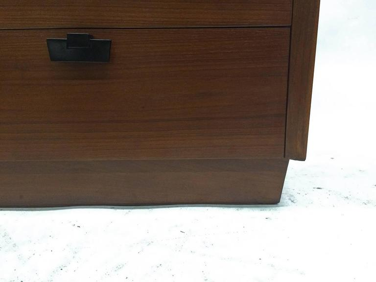 American of Martinsville Walnut Chest of Drawers 8