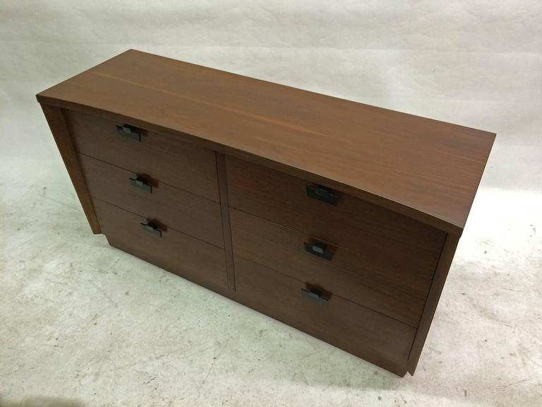 American of Martinsville Walnut Chest of Drawers 3