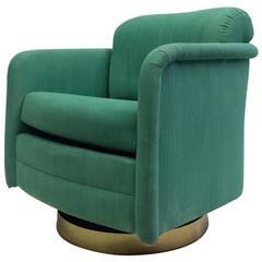 Milo Baughman Swivel Chair