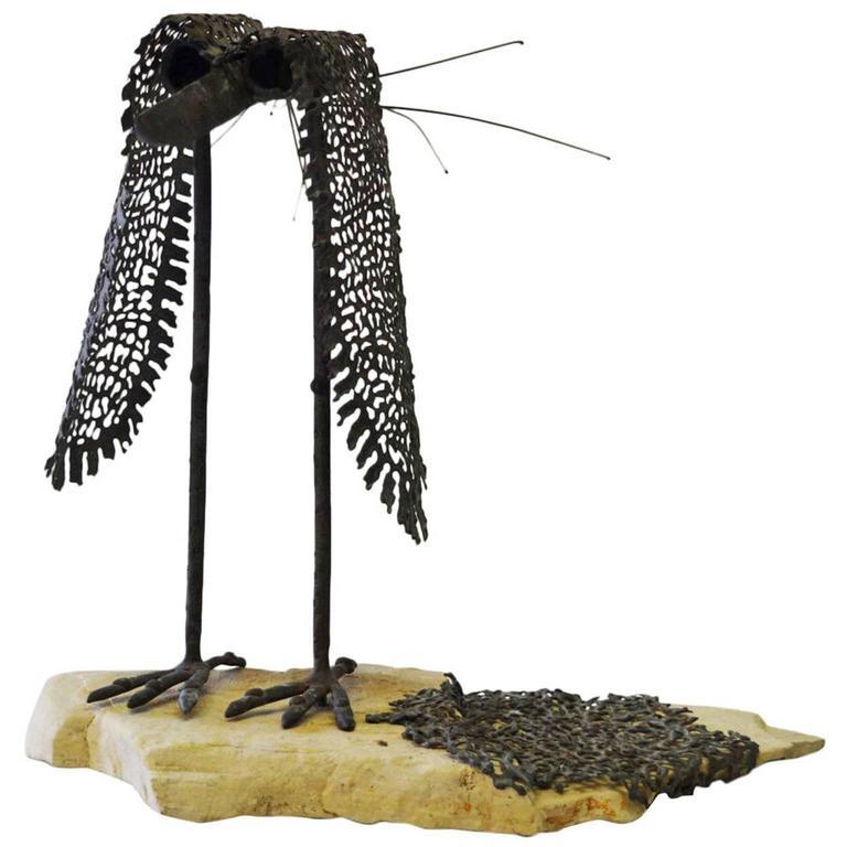 Modernist Bird Sculpture