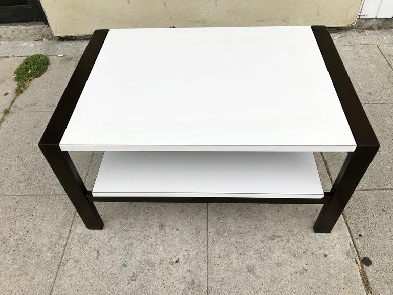Coffee Table with Pull Out Shelf by Van Keppel-Green 3