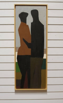 """The Couple"" by Walter Peregoy"