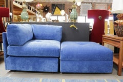 Milo Baughman for James Inc.  Furniture Two Piece Settee
