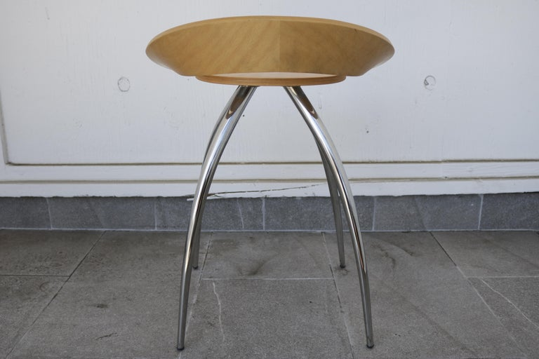 Set of Four Magis Lyra Stools by the Design Group Italia In Excellent Condition For Sale In Los Angeles, CA