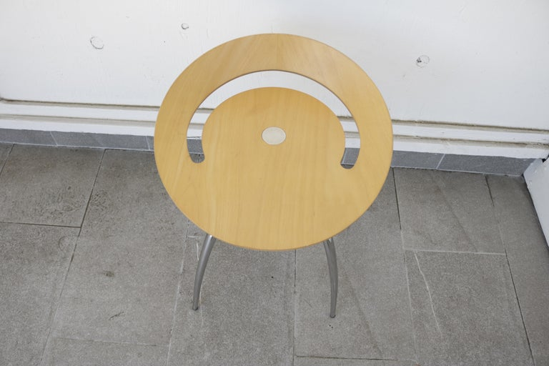 20th Century Set of Four Magis Lyra Stools by the Design Group Italia For Sale