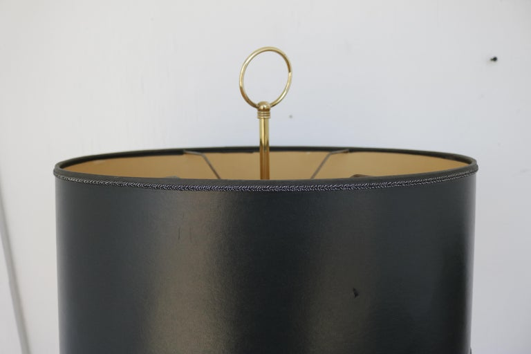 Mid-Century Modern 1960s French Floor Lamp in Brass For Sale