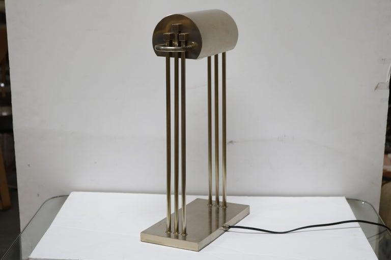 Brass Marcel Breuer First Edition Desk Lamp For Sale