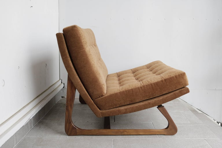 Mid-Century Modern Adrian Pearsall Slipper Chair For Sale