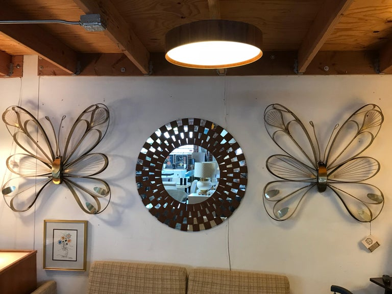 American Pair of Butterfly Sculptures by Curtis Jere For Sale