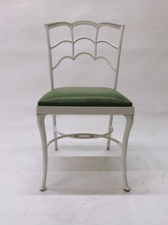20th Century Set of Four Outdoor Chairs For Sale