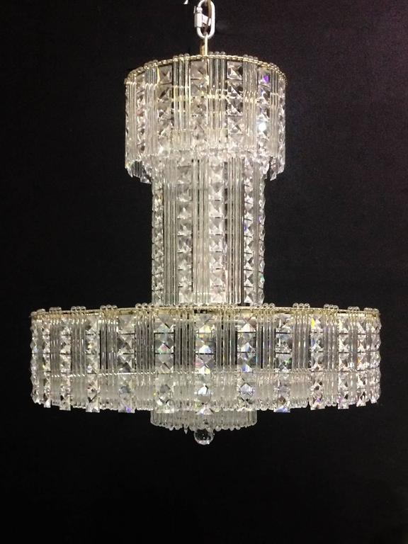 Crystal Chandelier For Sale at 1stdibs