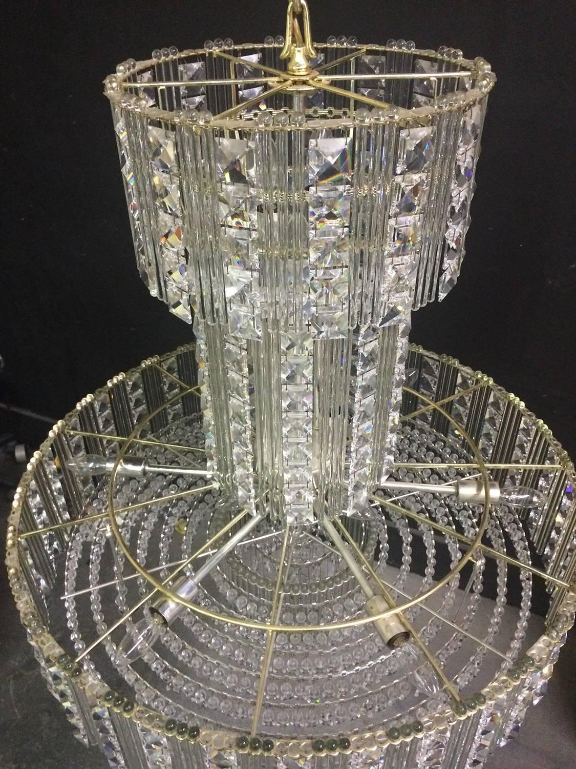 Large Crystal Chandelier For Sale At 1stdibs