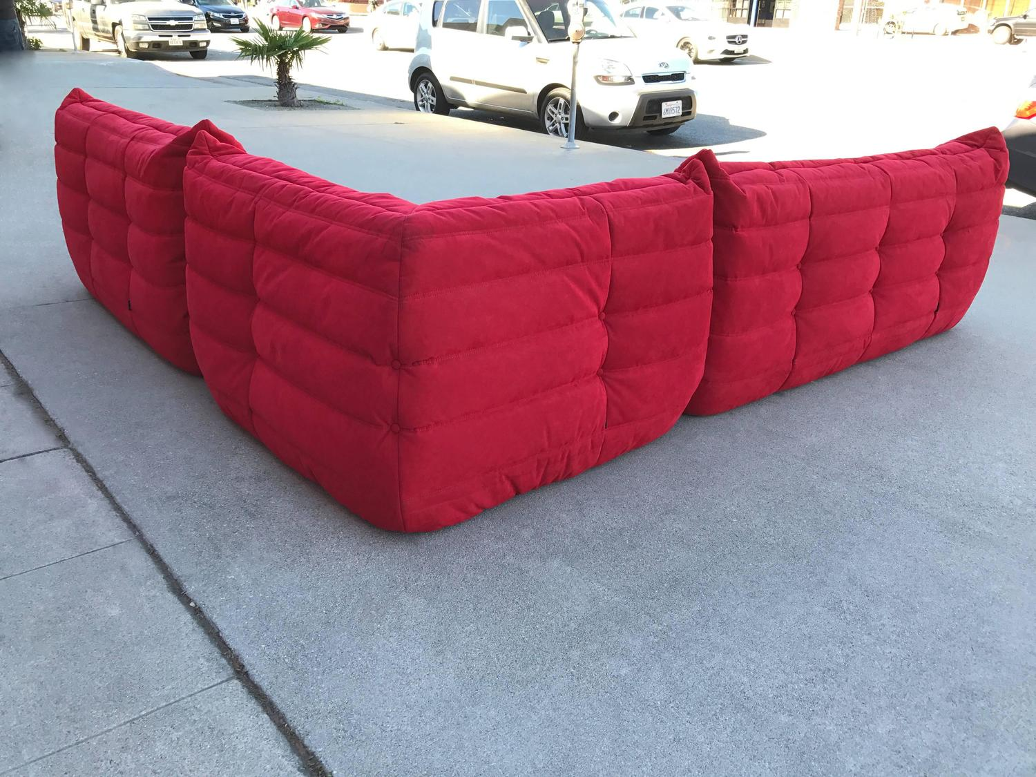 Ligne roset togo sectional sofa by michel ducaroy for sale at 1stdibs - Michel ducaroy togo sofa ...