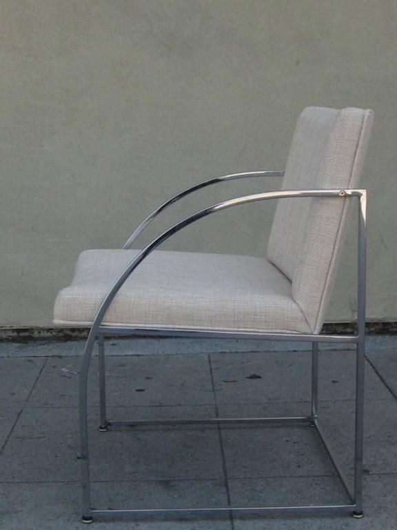 Pair of Chairs by Milo Baughman for Thayer Coggins 2