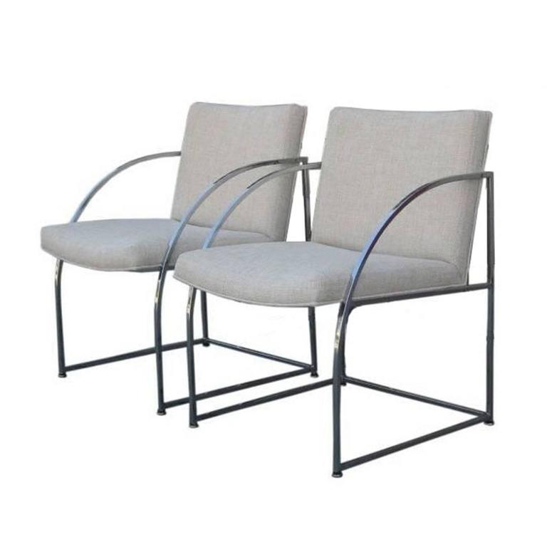Pair of Chairs by Milo Baughman for Thayer Coggins 1