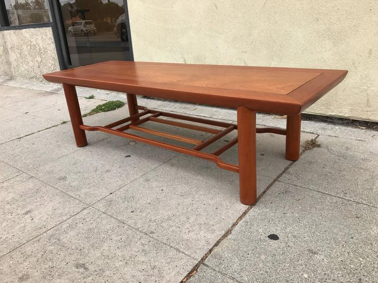 Mahogany Coffee Table by Heritage Henridon 4