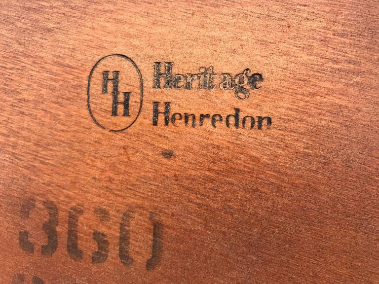 Mahogany Coffee Table by Heritage Henridon 6