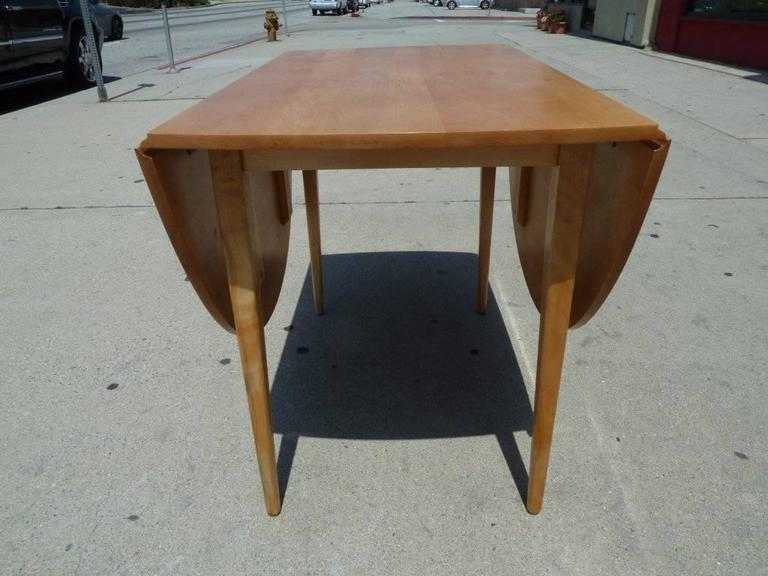 Foldable Sides Dining Table by Paul McCobb for Planner Group 4