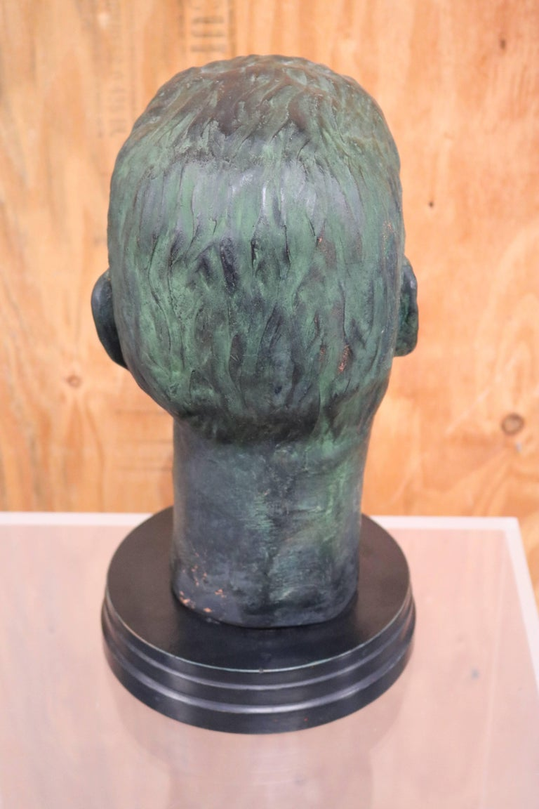Julius Caesar Head Sculpture 2