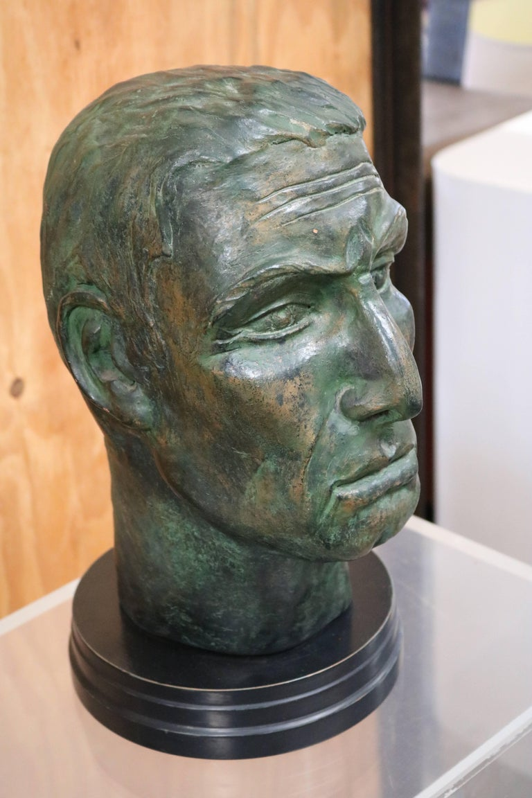 Julius Caesar Head Sculpture 3