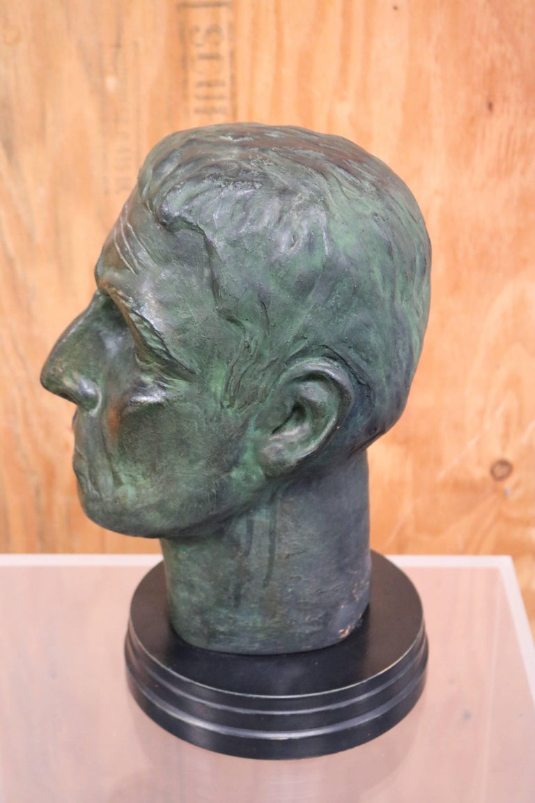 Julius Caesar Head Sculpture 4