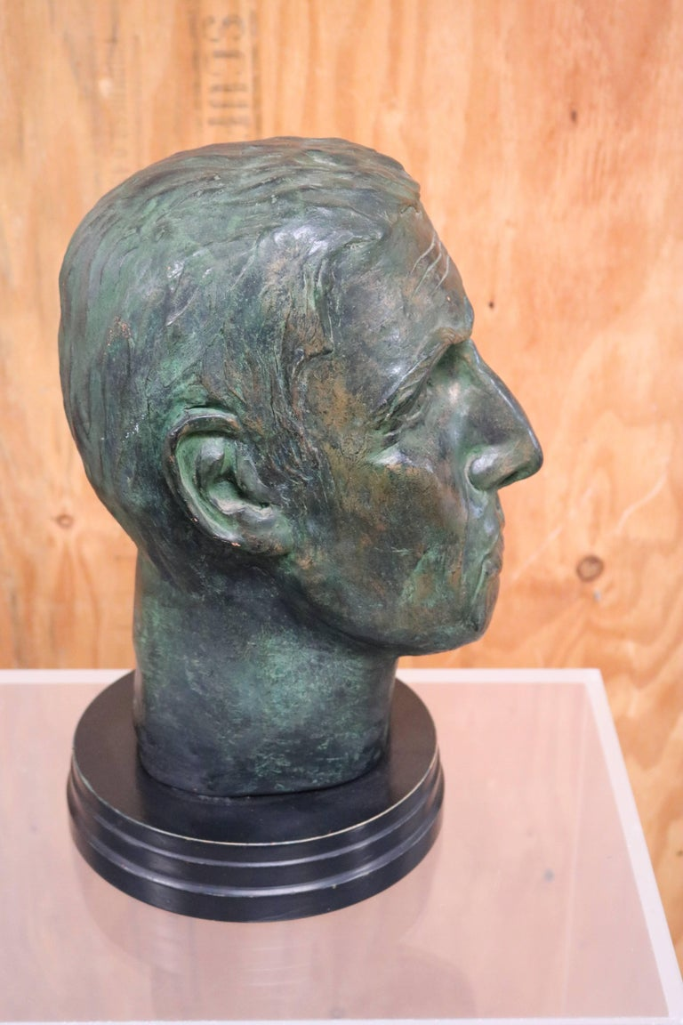Julius Caesar Head Sculpture 5
