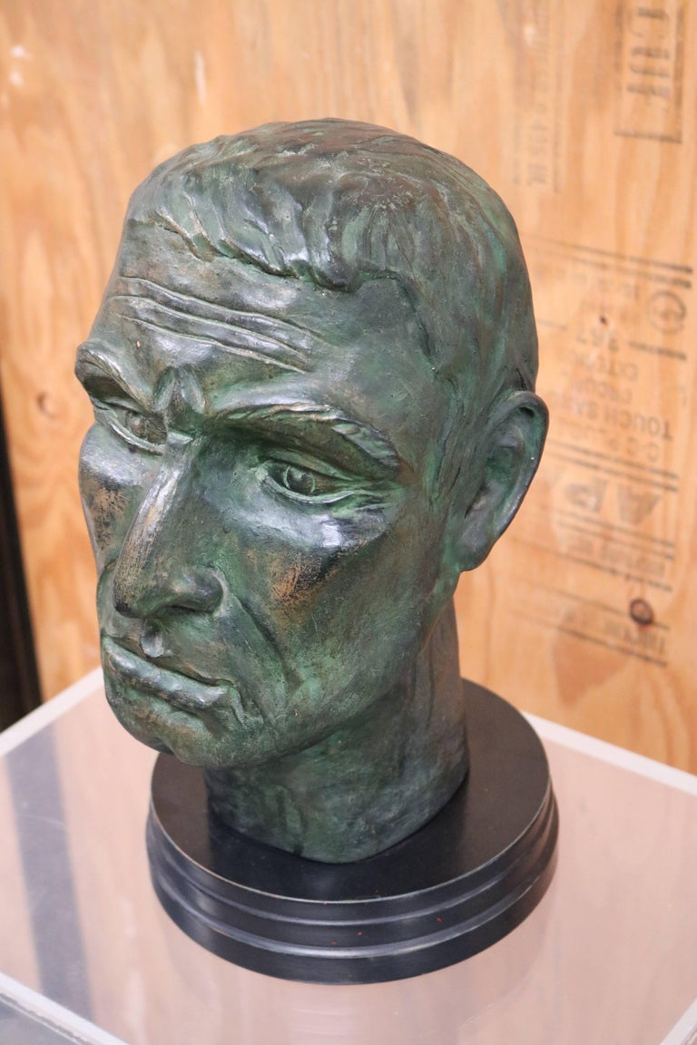 Julius Caesar Head Sculpture 6