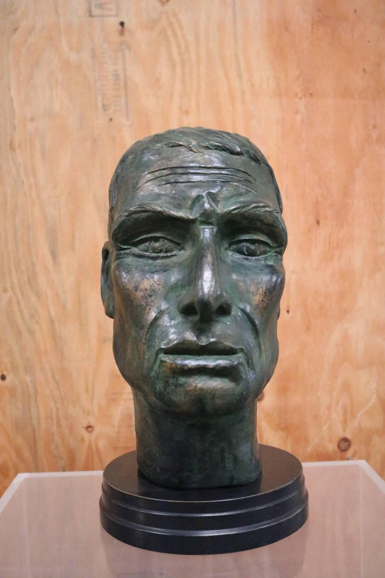 Julius Caesar Head Sculpture 8